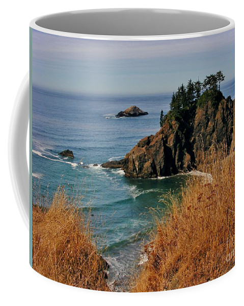 Ocean View Coffee Mug featuring the photograph Oregon Coast by Marilyn Smith