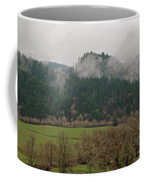 Oregon Coffee Mug featuring the photograph Oregon Countryside by Carol Eliassen