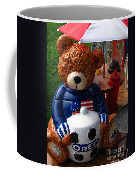 Patzer Coffee Mug featuring the photograph Oreo by Greg Patzer