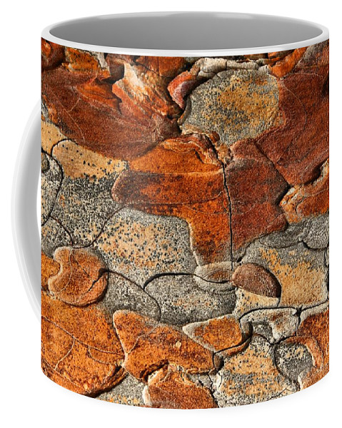 Abstract Coffee Mug featuring the photograph Organic Abstract by Aimelle