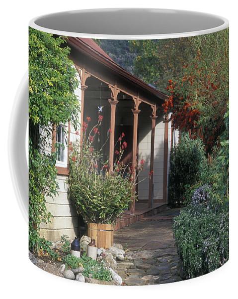 Porches Coffee Mug featuring the photograph Original Ortega Adobe, Built In 1842 by Rich Reid