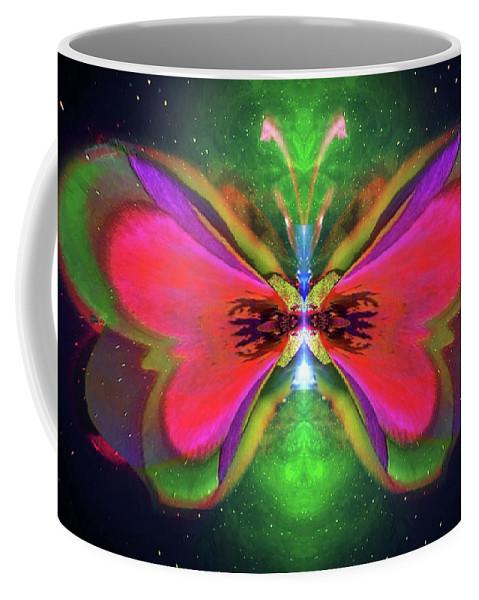 Oriole Coffee Mug featuring the digital art Oriole Rainyjewel by Raymel Garcia