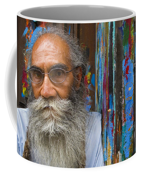 Architecture Coffee Mug featuring the photograph Orizaba Painter by Skip Hunt