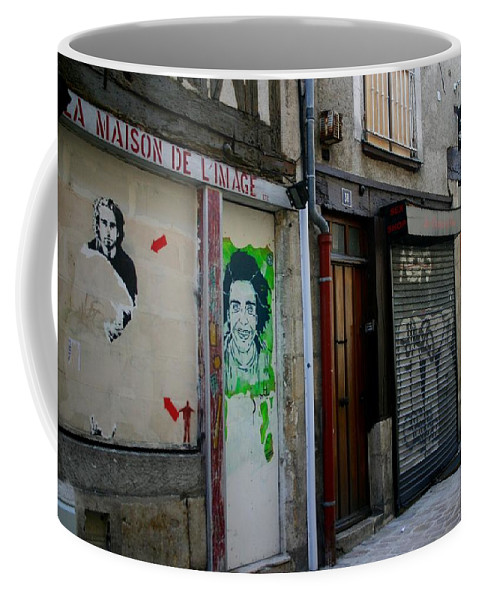 Alley Coffee Mug featuring the photograph Orleans France Alley by Minaz Jantz