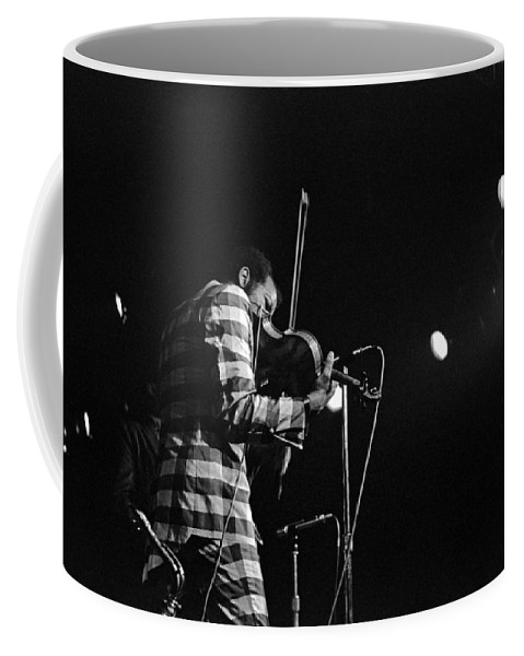 Ornette Coleman Coffee Mug featuring the photograph Ornette Coleman On Violin by Lee Santa