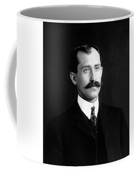 Orville Wright Coffee Mug featuring the photograph Orville Wright Portrait - 1905 by War Is Hell Store