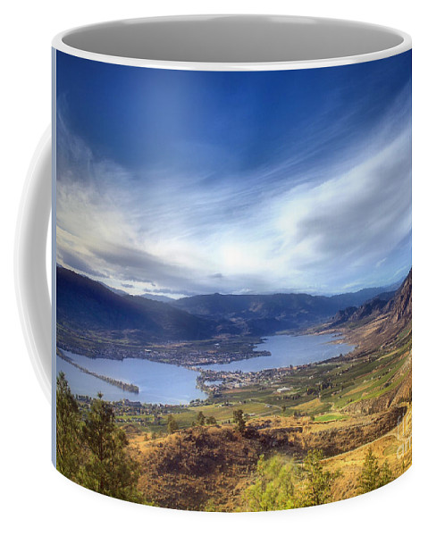 Osoyoos Coffee Mug featuring the photograph Osoyoos Lake by Tara Turner