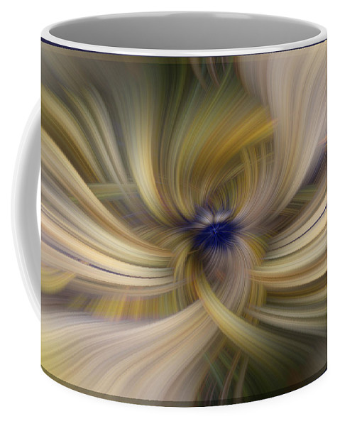 Design Coffee Mug featuring the digital art Other Side Of Blue by Mark Myhaver