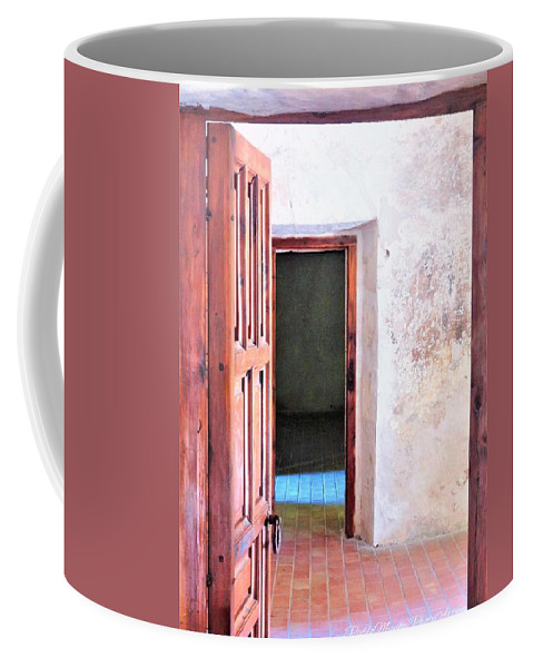 Coffee Mug featuring the photograph Other Side by Pablo Munoz