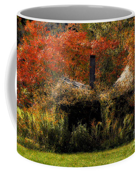 House Coffee Mug featuring the photograph Ouch by Lois Bryan