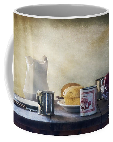 Our Daily Bread Coffee Mug featuring the photograph Our Daily Bread by Priscilla Burgers