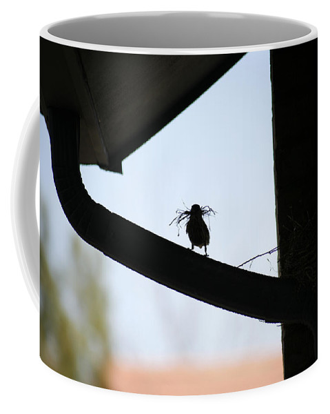 Nest Coffee Mug featuring the photograph Our House by Marilyn Hunt