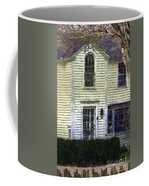House Coffee Mug featuring the painting Our Town's Witch House by RC deWinter