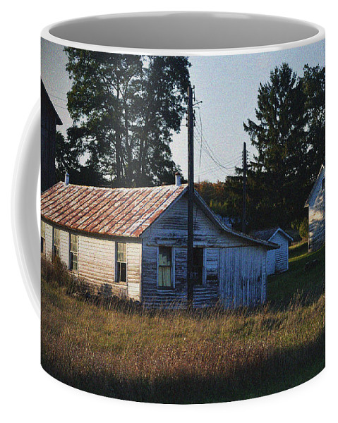Barns Coffee Mug featuring the photograph Out Building by Tim Nyberg