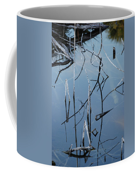 Wood Coffee Mug featuring the photograph Out From The Water by Rob Hans