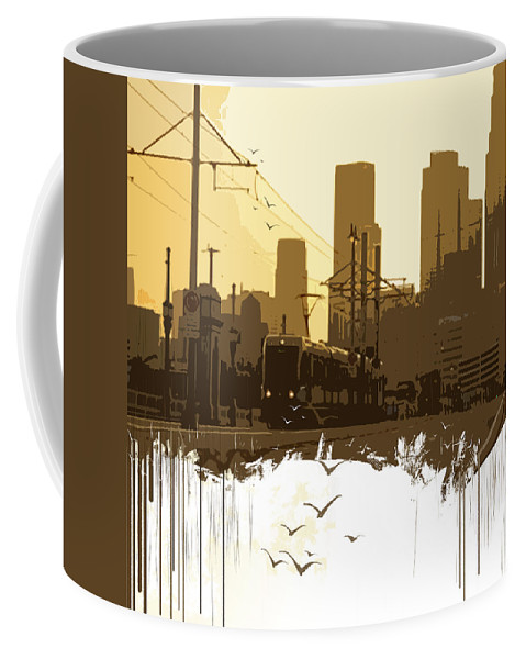 Out Of Ordinary Coffee Mug featuring the digital art Out Of Ordinary by Boghrat Sadeghan
