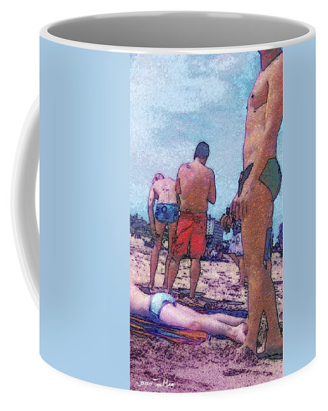 Male Coffee Mug featuring the photograph Out Of The Corner Of My Eye by Jeffrey Todd Moore