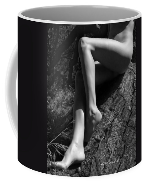 Nude Coffee Mug featuring the photograph Out On A Limb by Donna Blackhall