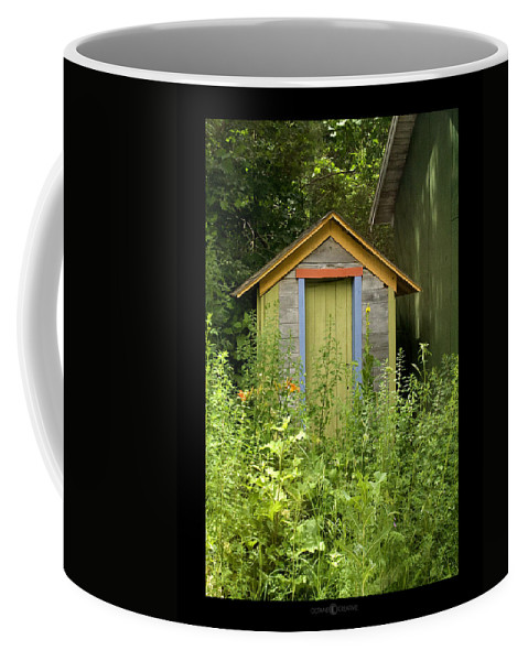 Outhouse Coffee Mug featuring the photograph Outhouse by Tim Nyberg