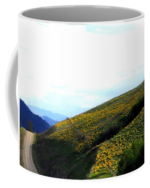 Hills Coffee Mug featuring the photograph Over Hill And Dale by Will Borden