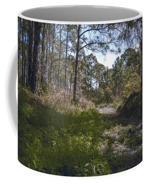 Over The Hill Coffee Mug featuring the photograph Over The Hill by Michael Frizzell