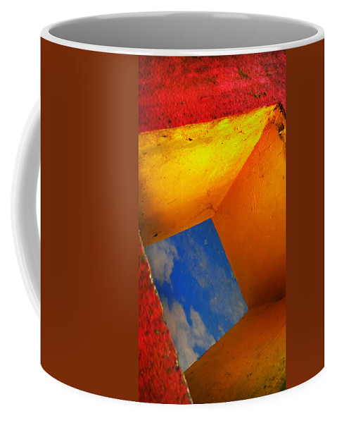 Skip Hunt Coffee Mug featuring the photograph Over The Rainbow by Skip Hunt