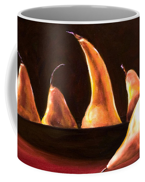 Still Life Coffee Mug featuring the painting Overboard by Shannon Grissom
