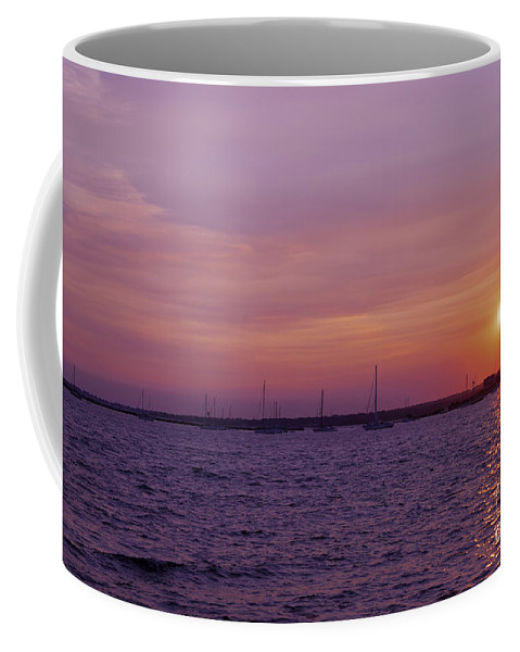 Borough Coffee Mug featuring the photograph Overcast by Joe Geraci