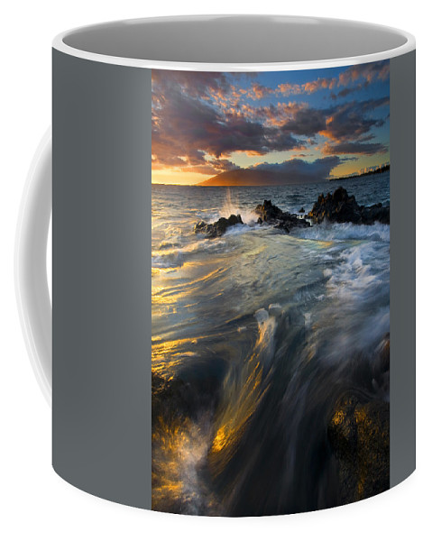 Cauldron Coffee Mug featuring the photograph Overflow by Mike Dawson
