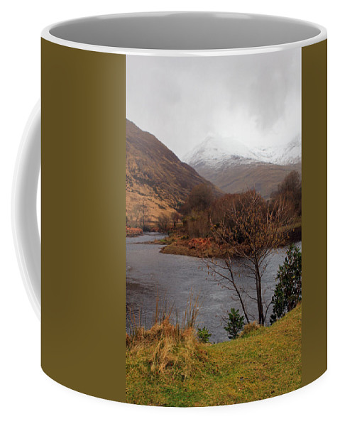 Mountians Coffee Mug featuring the photograph Overlooking Beauty by Jennifer Robin