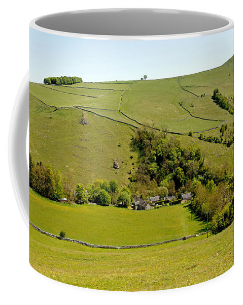 Milldale Coffee Mug featuring the photograph Overlooking Milldale by Rod Johnson
