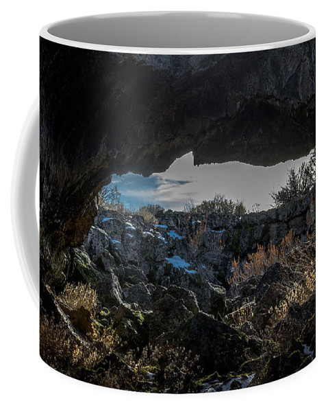Lava Coffee Mug featuring the photograph Overpass by Marnie Patchett