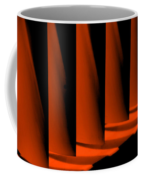 Red Coffee Mug featuring the photograph Overview by Susanne Van Hulst