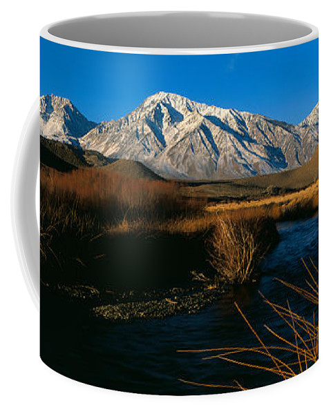 Photography Coffee Mug featuring the photograph Owens River Valley Bishop Ca by Panoramic Images
