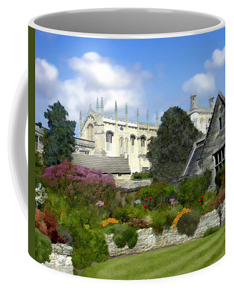 Oxford Coffee Mug featuring the photograph Oxford England by Kurt Van Wagner
