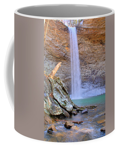 Ozone Coffee Mug featuring the photograph Ozone A 90 Foot Waterfall by Douglas Barnett