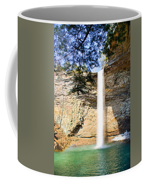 Ozone Coffee Mug featuring the photograph Ozone Falls Focus by Douglas Barnett