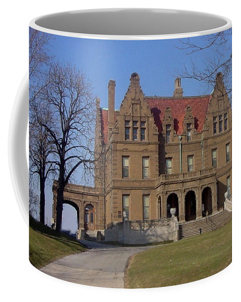Pabst Mansion Coffee Mug featuring the photograph Pabst Mansion Photo by Anita Burgermeister