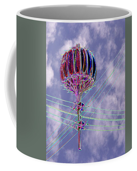 Seattle Coffee Mug featuring the photograph Pacific Science Center Lamp 2 by Tim Allen