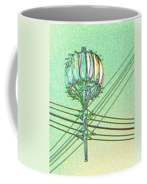 Seattle Coffee Mug featuring the digital art Pacific Science Center Lamp by Tim Allen