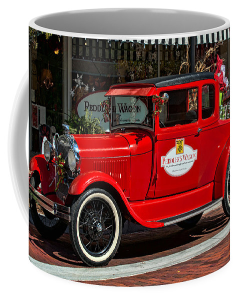 Christmas Coffee Mug featuring the photograph Packed For Christmas by Christopher Holmes