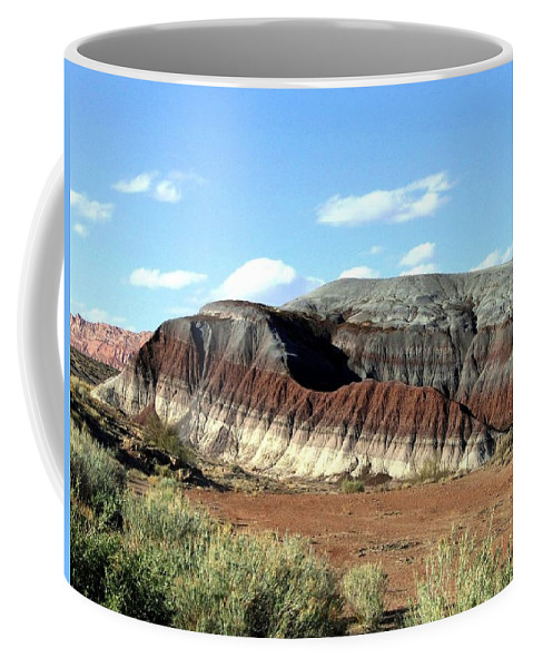 Arizona Coffee Mug featuring the photograph Painted Desert by Will Borden