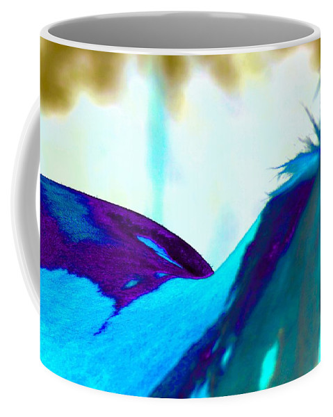 Coffee Mug featuring the photograph Painted by Shannon Boswell