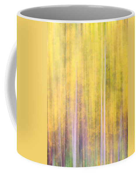 Trees Coffee Mug featuring the photograph Painted Trees IIi by Tina Baxter