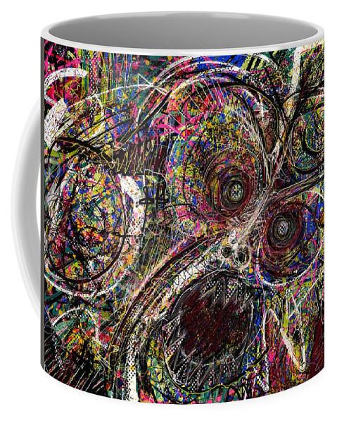 Digital Art Coffee Mug featuring the digital art Painting 226 by Jacob Hokanson