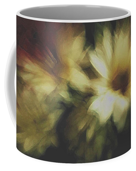 Flowers Coffee Mug featuring the photograph Painting Flowers by Linda Sannuti