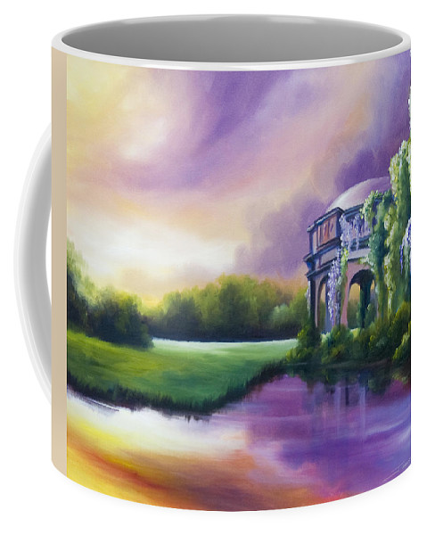 Marsh Coffee Mug featuring the painting Palace Of The Arts by James Christopher Hill