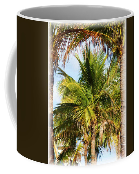 Palm Coffee Mug featuring the photograph Palm Portrait by Nelson Strong