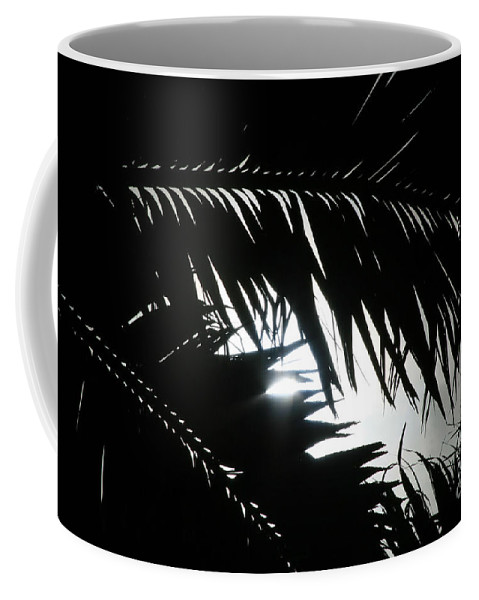 Palm Silhouettes Coffee Mug featuring the photograph Palm Silhouettes Kaanapali by Sharon Mau