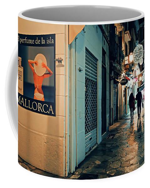 Palma Coffee Mug featuring the photograph Palma De Mallorca by Alexander Voss